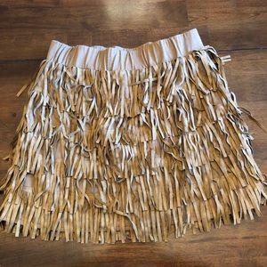 Indian fringe skirt for Halloween Costume